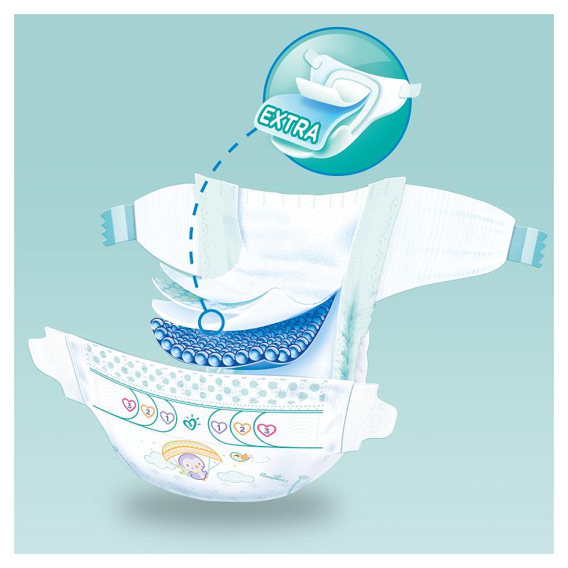 Pampers Active Baby Πάνες Maxi Pack Μέγεθος 4+ (10-18