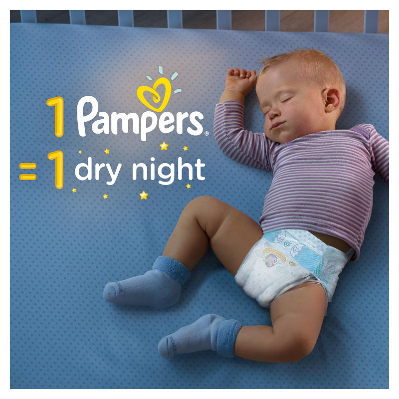 Pampers Active Baby Πάνες Maxi Pack Μέγεθος 7 (15+ kg), 40 Πάνες-1