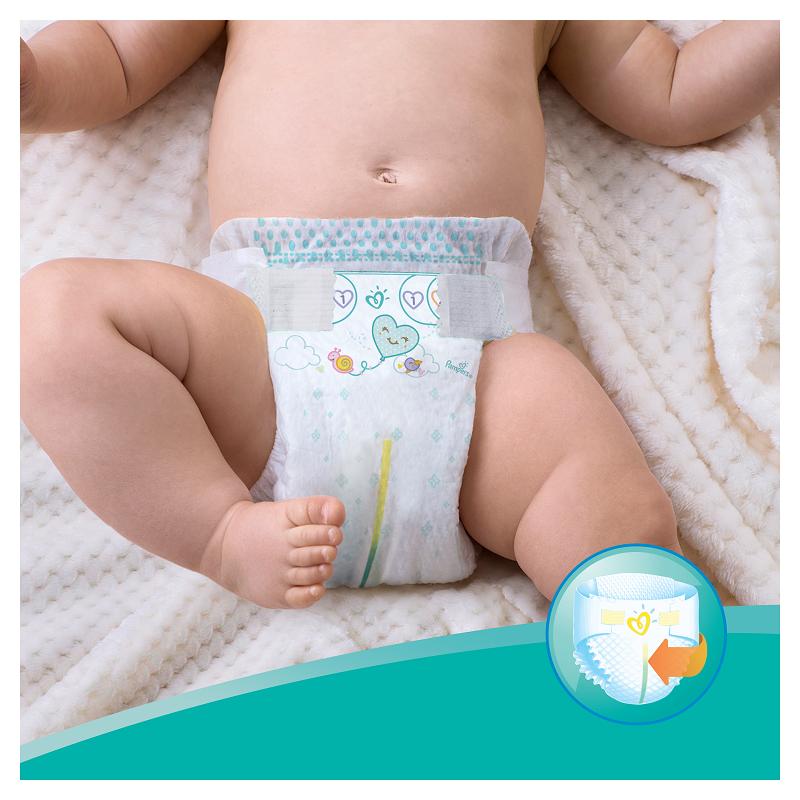 Pampers Active Baby Πάνες Maxi Pack Μέγεθος 7 (15+ kg), 40 Πάνες-0
