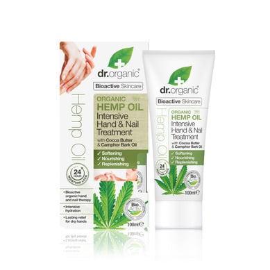 Dr. Organic Organic Hemp Oil Hand & Nail Treatment, 100ml