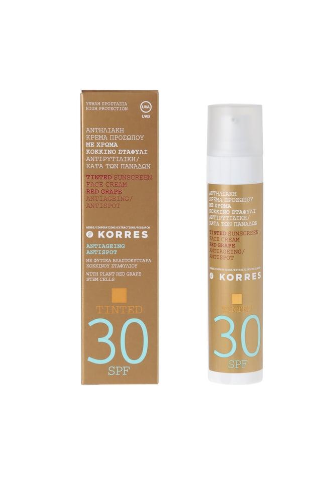 Korres Tinted Sunscreen Face Cream SPF30, 50ml
