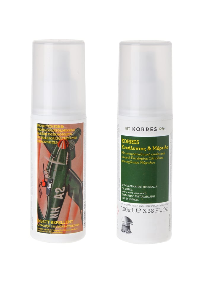 Korres Insect Repellent Spray with Eucalyptus and Myrtle, 100ml