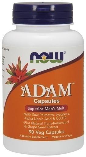 Now Adam Superior Mens Multi Συμπλήρωμα Διατροφής για την Ανδρική Υγεία, 90 Vcaps