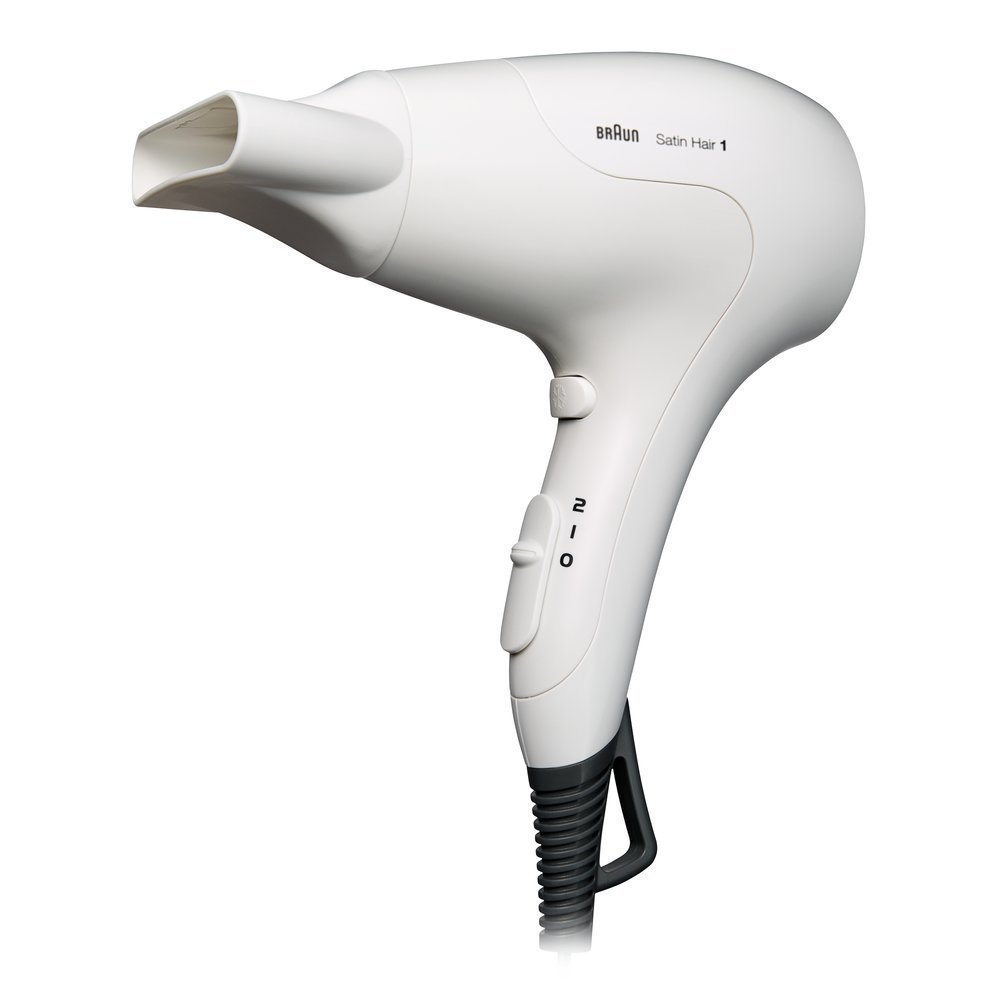 Braun HD180 Satin Hair 1 Ισχυρό, Μικρό & Ελαφρύ, Σεσουάρ Μαλλιών 1800W, 1 τεμάχιο