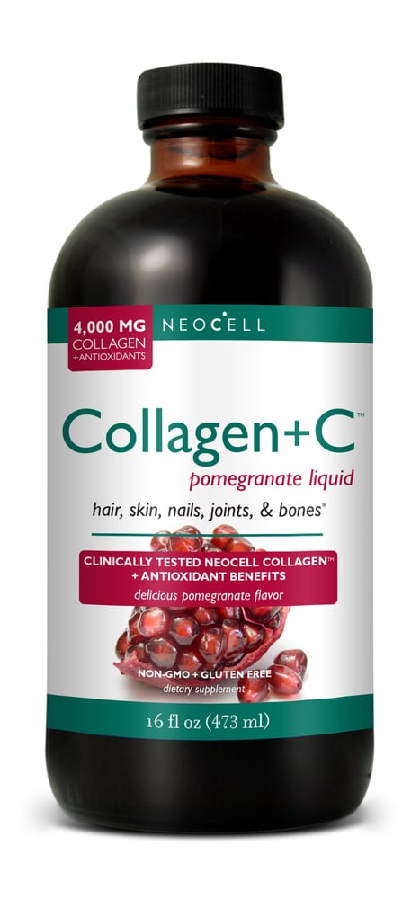 Neocell Collagen + C Pomegranate Liquid, 473 ml