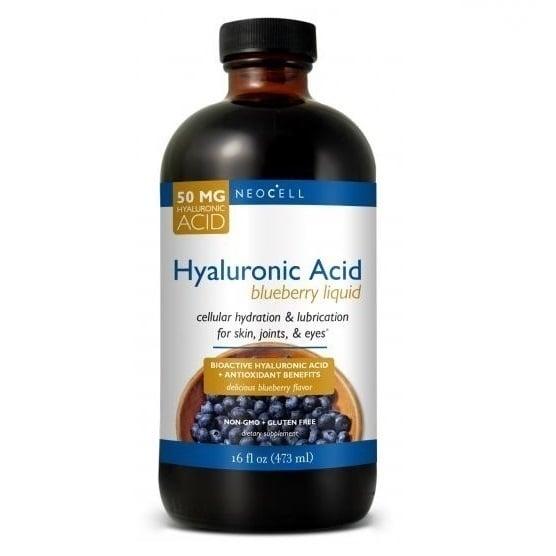 Neocell Hyaluronic Acid Blueberry Liquid 50mg, 473 ml