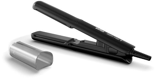 Braun ST100 Satin Hair 1 Style & Go Συσκευή Ισιώματος Ταξιδίου, 1 τεμάχιο