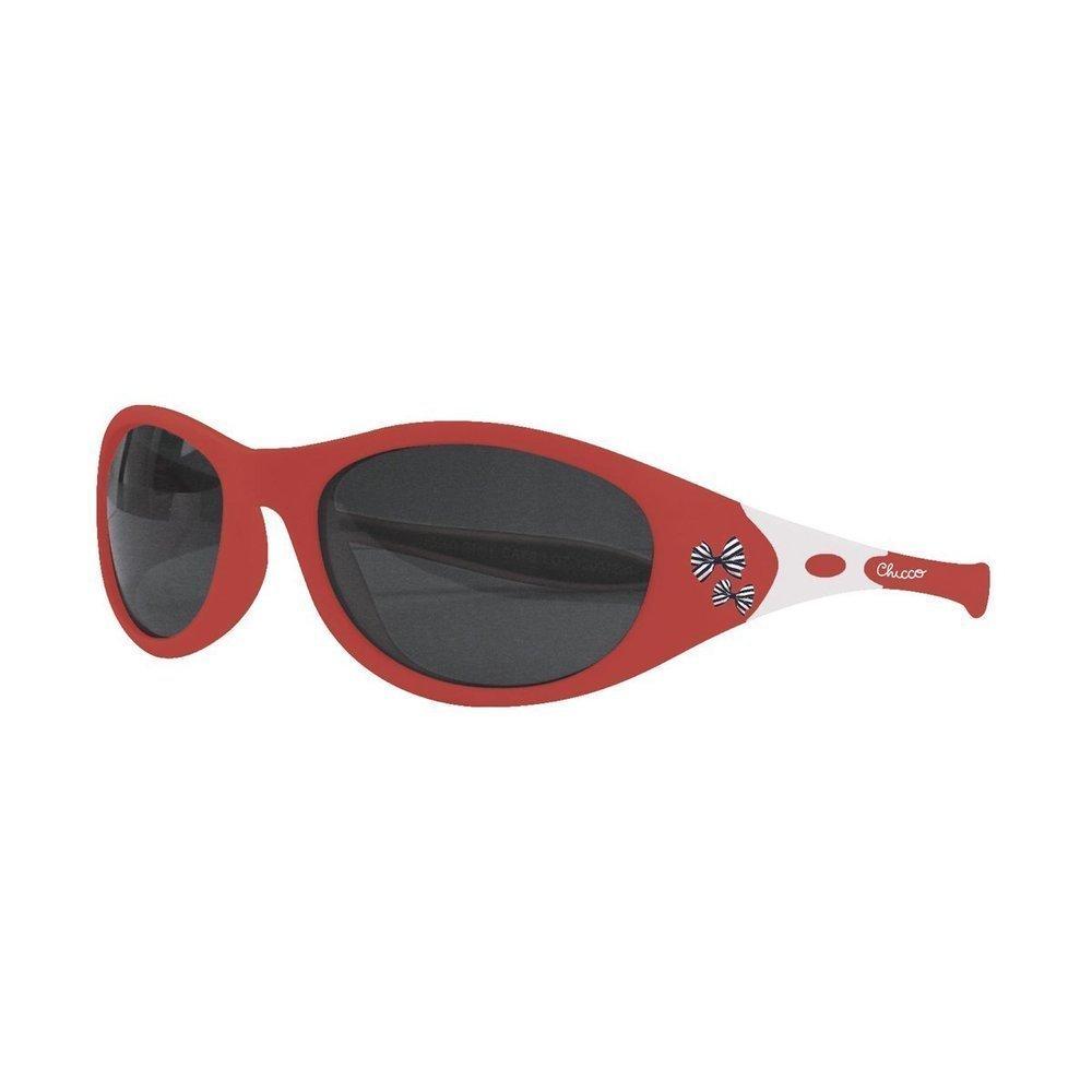 Chicco Comedy Girl 24m+ Γυαλιά Ηλίου για Κορίτσι, Χρώμα Κόκκινο, 1 ζευγάρι