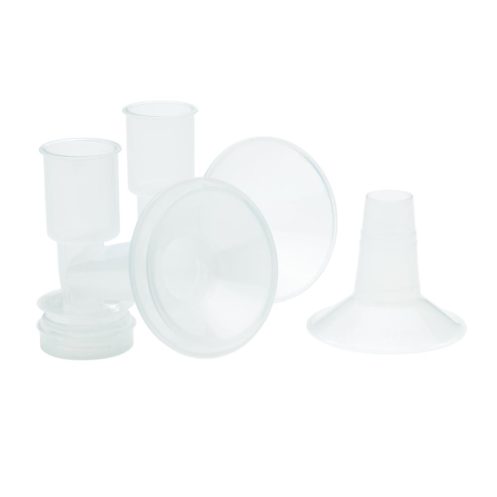 Ameda CustomFit Breast Flanges Ευρύστομες Κεφαλές Μέγεθος XLarge/XXLarge, 2 τεμάχια
