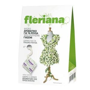 Fleriana Φυσικό Αρωματικό για τα Ρούχα με 100% Εκχύλισμα Γαρδένιας, 3 τεμάχια