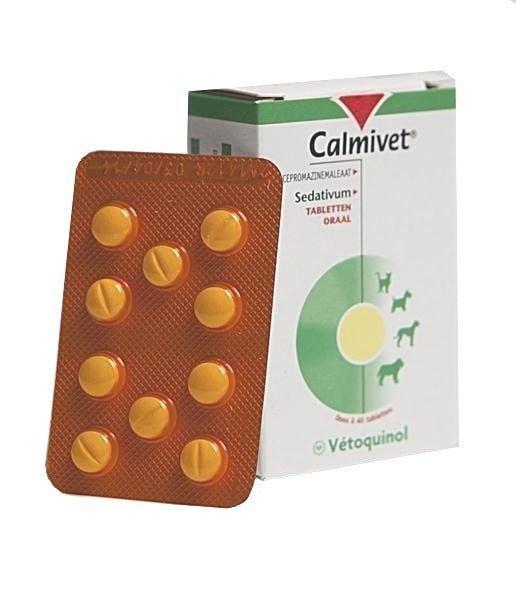 Vetoquinol Calmivet Ηρεμιστικό Συμπλήρωμα για Σκύλους & Γάτες, 20 tabs