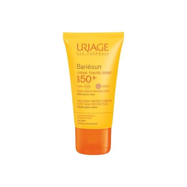 URIAGE Bariesun Creme Teintee Dore SPF 50+, 50ml