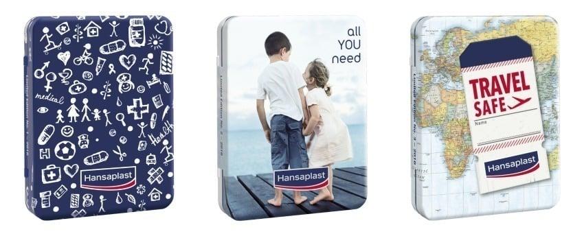 Hansaplast Limited Edition Αυτοκόλλητα Επιθέματα, 16 strips