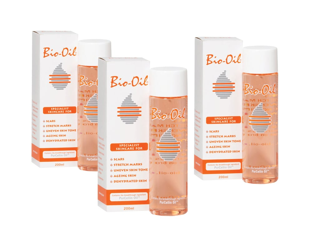 3 x Bio Oil PurCellin Oil Ειδικό Έλαιο Περιποίησης της Επιδερμίδας, 3 x 200ml