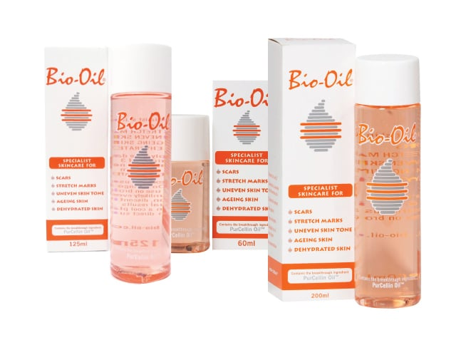 3 x Bio Oil PurCellin Oil Ειδικό Έλαιο Περιποίησης της Επιδερμίδας, 1 x 60ml, 1 x 125ml & 1 x 200ml
