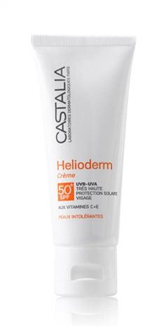 Castalia Helioderm Crème SPF50+ Αντηλιακή Κρέμα Προσώπου πολύ Υψηλής Προστασίας, 40ml