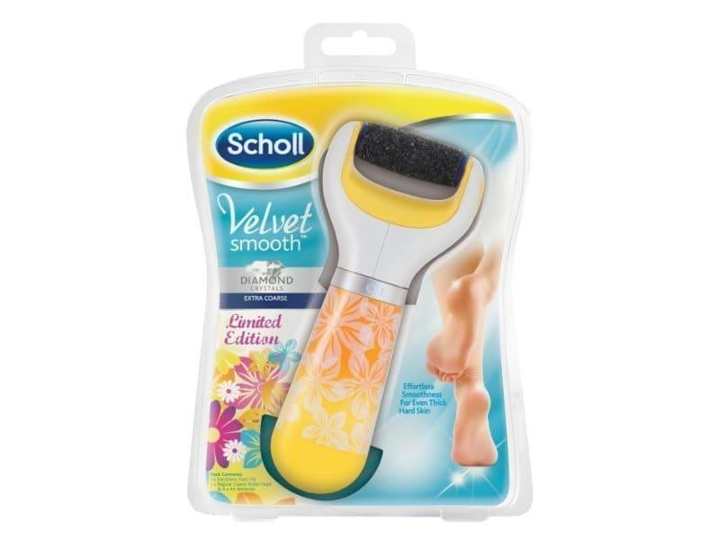 Scholl Velvet Diamond Express Pedi Limited Edition Ηλεκτρική Λίμα για Ιδιαίτερα Σκληρό Δέρμα (Νέο Προιόν), 1 τεμάχιο