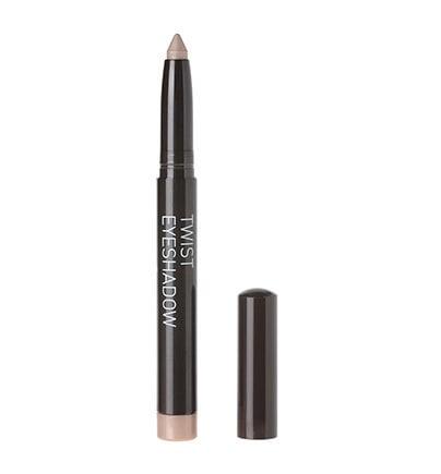 Korres Volcanic Minerals Twist Eyeshadow No. 15 Golden Sugar / Μεταλλικό Μπεζ Κρεμώδης Σκιά Ματιών, 1.4 gr