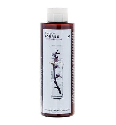 Korres Σαμπουάν για Ξηρά Μαλλιά με Αμύγδαλο & Λινάρι, 250ml