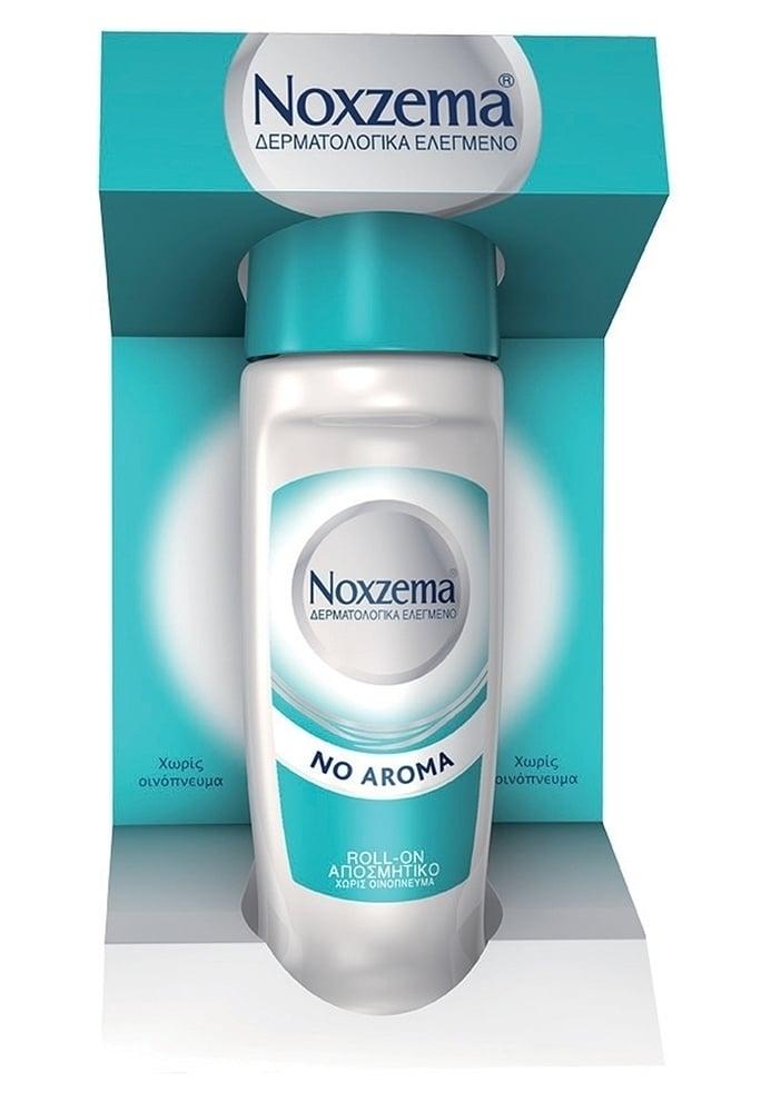 Noxzema No Aroma Roll On Υποαλλεργικό Αποσμητικό Σώματος χωρίς Άρωμα, 50ml