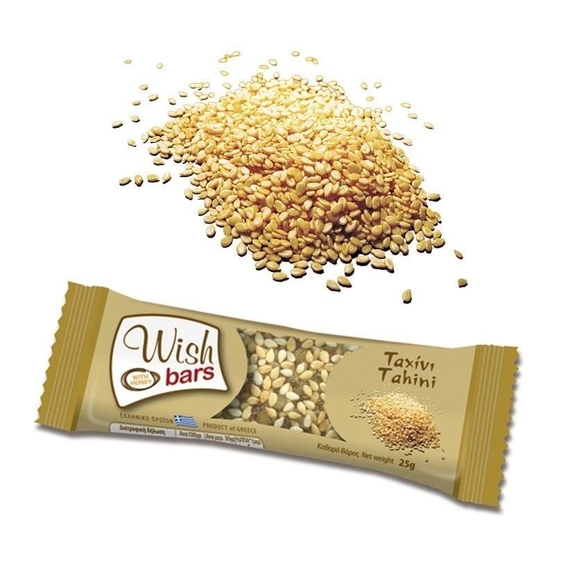 Wish Bars Ταχίνι Μπάρα Δημητριακών, 25 gr