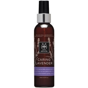 Apivita Caring Lavender Moisturizing & Relaxing Body Oil / Hypoallergenic with Lavender & Olive Oil, 150ml