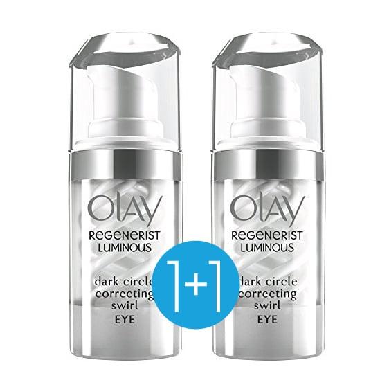 Olay Regenerist Luminous Dark Circle Eye Cream Κρέμα Ματιών για την Αντιμετώπιση των Μαύρων Κύκλων (1+1 ΔΩΡΟ), 2 x 15ml