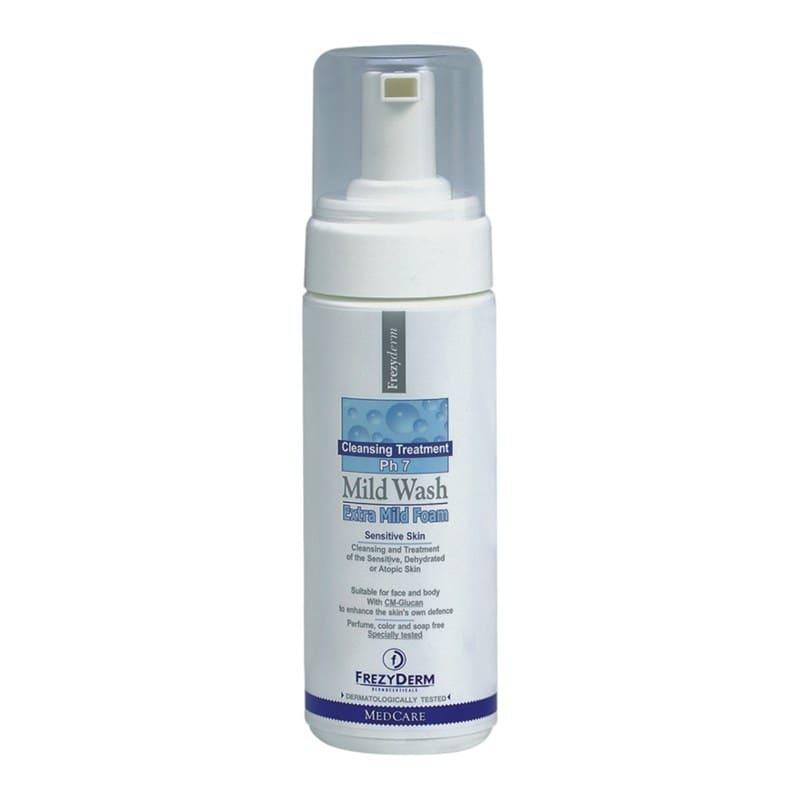 Frezyderm Mild Wash Extra Mild Foam Απαλός Αφρός Καθαρισμού για Πρόσωπο & Σώμα, 150ml
