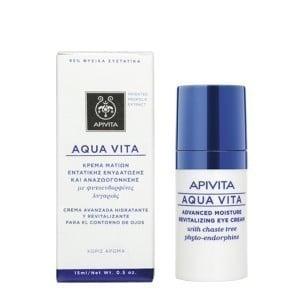 Apivita Aqua Vita Advanced Κρέμα Ματιών Εντατικής Ενυδάτωσης, 15ml