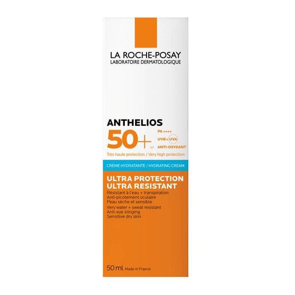 La Roche Posay Anthelios Ultra Cream AP SPF50+ Αντηλιακή Κρέμα Προσώπου κατάλληλη για την περιοχή των ματιών, 50ml