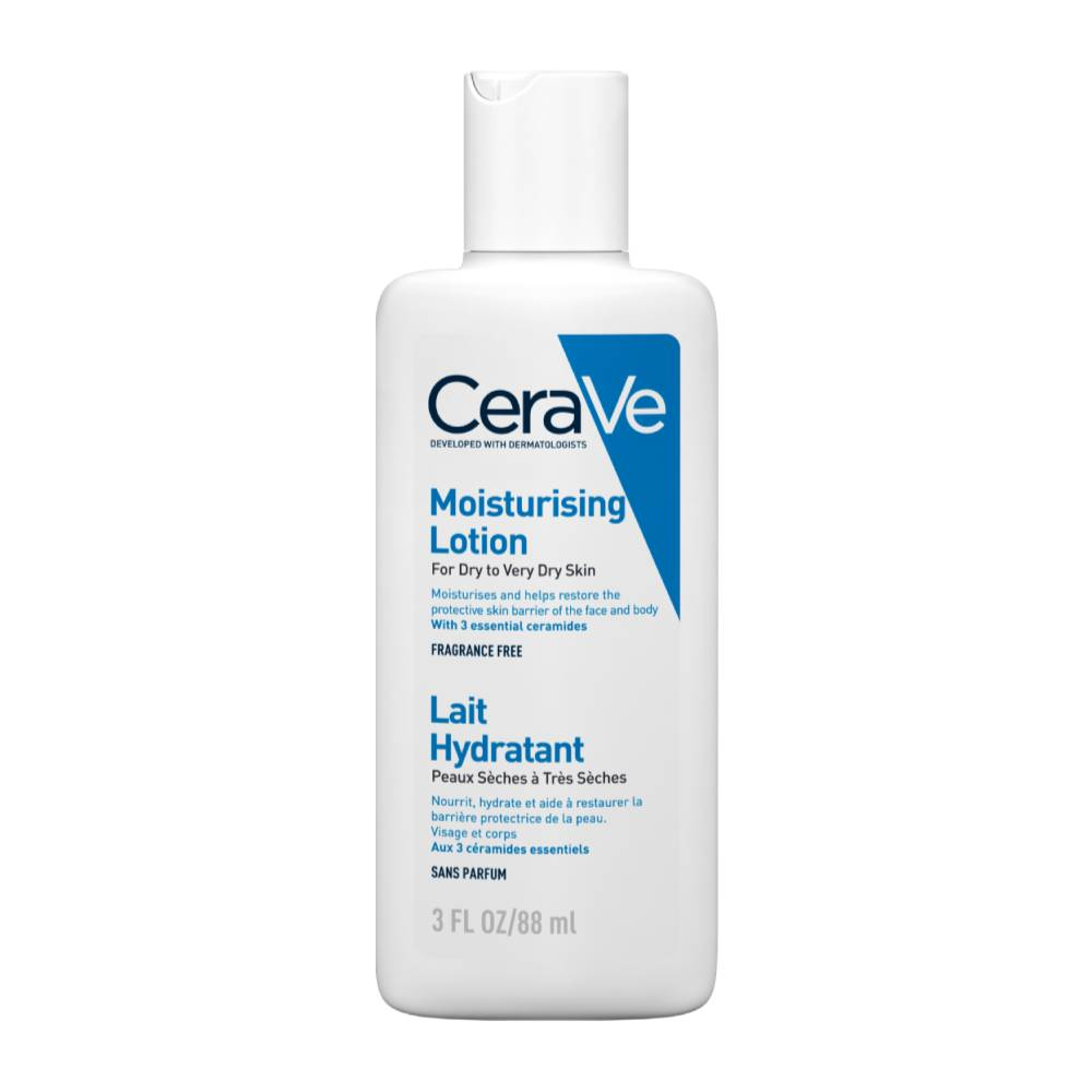 Cerave Moisturizing Lotion Ενυδατικό Γαλάκτωμα για Ξηρό/Πολύ Ξηρό Δέρμα, 88ml