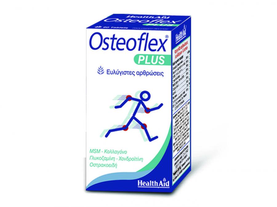 Health Aid OSTEOFLEX PLUS Glucosamine - Chondroitin - MSM - Collagen