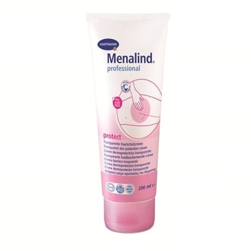 Hartmann Menalind Professional Protect Cream Διαφανής Κρέμα Προστασίας του Δέρματος Ιδανική για Κλινήρεις Ασθενείς (995026), 200ml