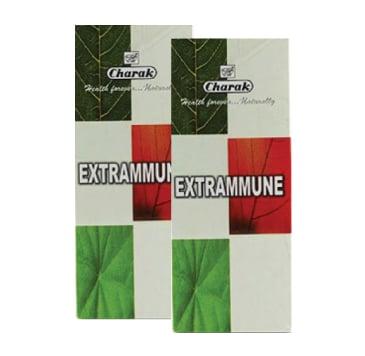 2 x Charak Extrammune Syrup Πόσιμο Συμπλήρωμα από Φυτικά Εκχυλίσματα για την Ενίσχυση της Άμυνας του Οργανισμού, 2 x 200ml