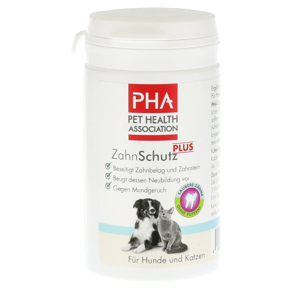 PHA Plaque Control Συμπλήρωμα Διατροφής για την Υγεία των Δοντιών & των Ούλων του Σκύλου & της Γάτας, 60 gr