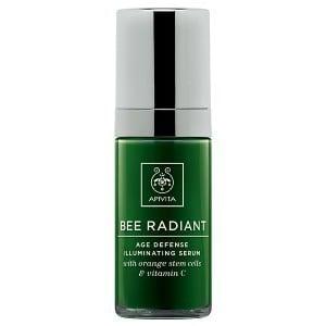 Apivita Bee Radiant Age Defense Illuminating Serum with Orange Stem Cells & Vitamin C, 30ml