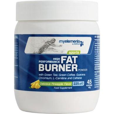 MyElements Sports High Performance Fat Burner Powder Ειδική Φόρμουλα για την Ενέργεια & τον Έλεγχο Βάρους με Γεύση Ανανά, 225gr