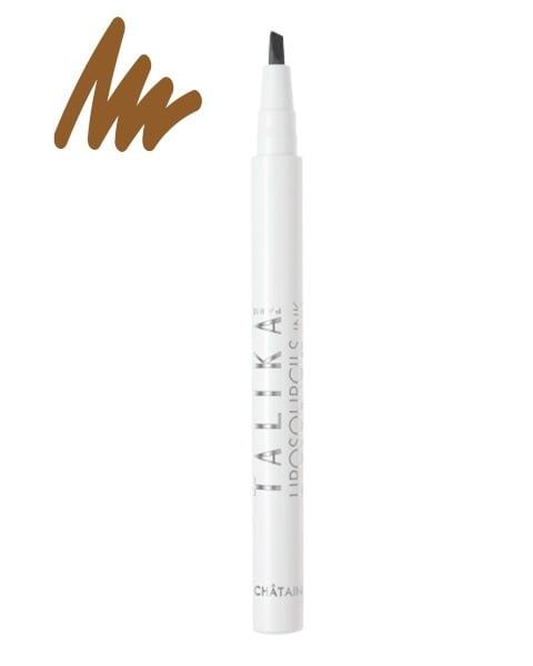Talika Liposourcils Ink Chestnut Στυλό για τη Θρέψη & το Make Up των Φρυδιών, Απόχρωση Κάστανο, 0.8ml