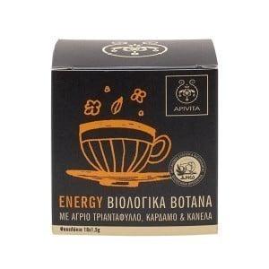 Apivita Energy Βιολογικό Τσάι για Τόνωση & Ενέργεια, 10 x 1.5gr