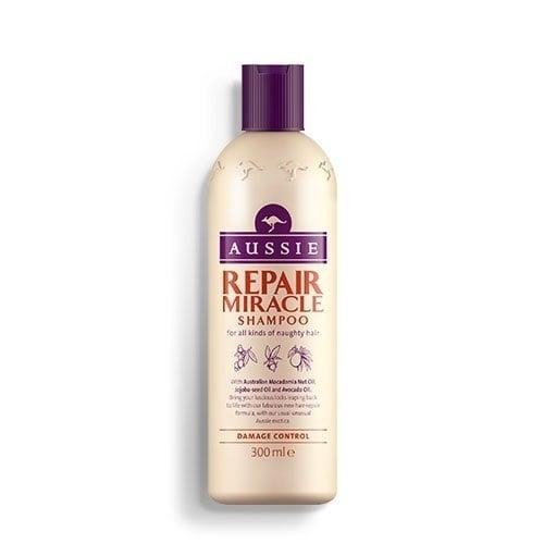 Aussie Repair Miracle Shampoo Σαμπουάν για Όλους τους Τύπους Ατίθασων Μαλλιών, 300ml
