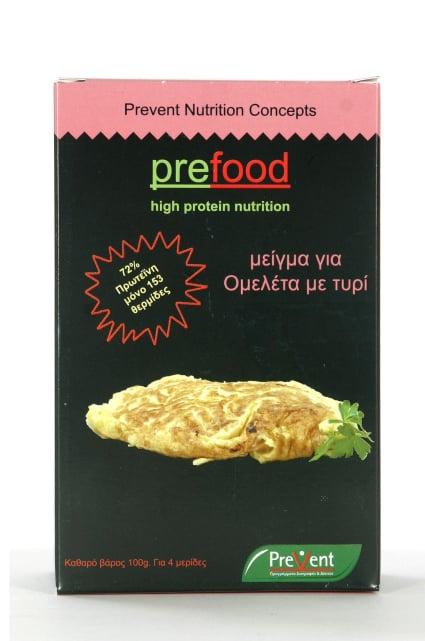 Prevent Prefood Cheese Omelette Ομελέτα με Τυρί Υψηλής Πρωτεΐνης, 100gr