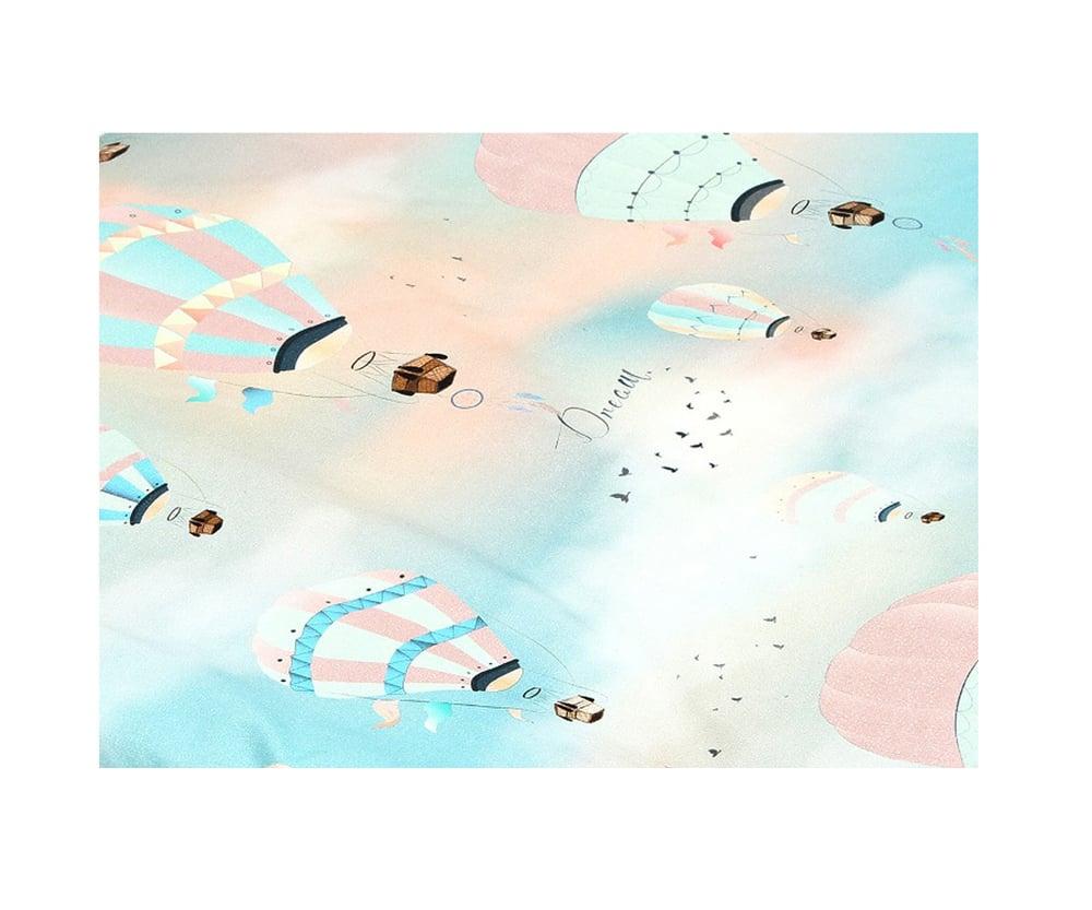 La Millou Balloons Grey Προστατευτικά Ζώνης Καροτσιού & Μάρσιπου, 2 τεμάχια