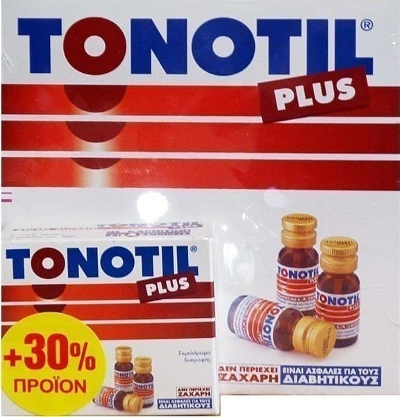 Tonotil Plus Συμπλήρωμα Διατροφής με Καρνιτίνη & 4 Αμινοξέα