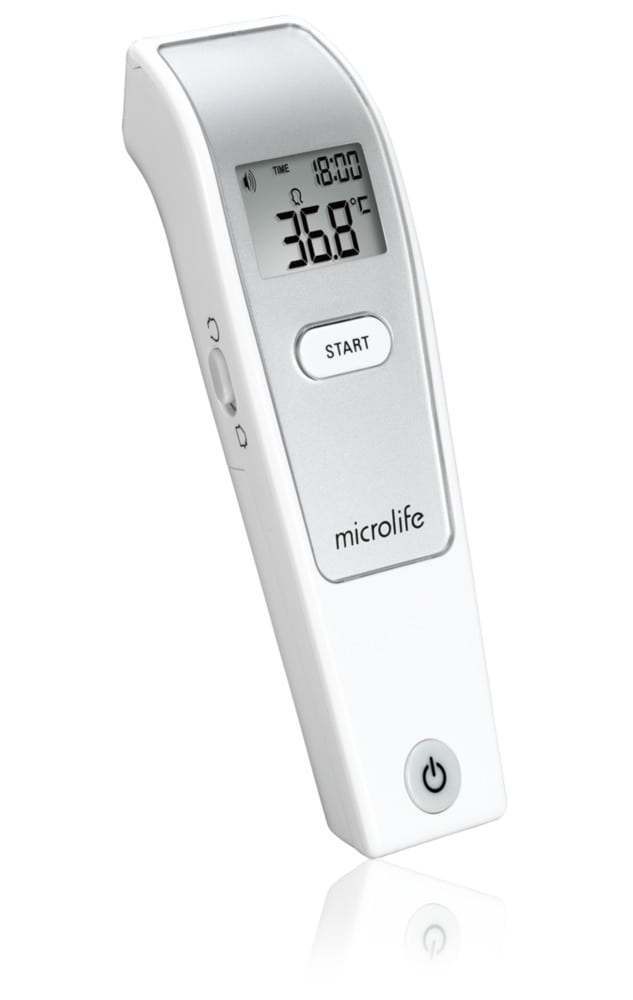 Microlife NC150 Non Contact Ψηφιακό Θερμόμετρο με Υπέρυθρες 3'', 1 τεμάχιο