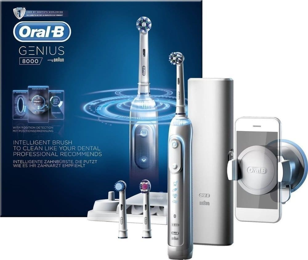 Oral B Genius 8000 Επαναφορτιζόμενη Ηλεκτρική Οδοντόβουρτσα, 1 τεμάχιο