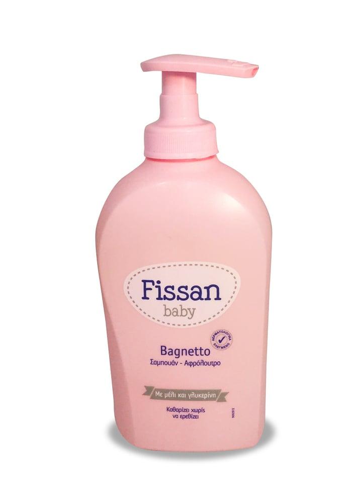 Fissan Baby Bagnetto Υποαλλεργικό Σαμπουάν & Αφρόλουτρο, 300ml