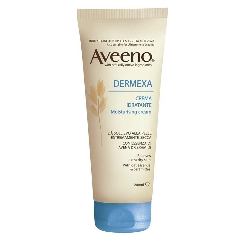 Aveeno Dermexa Emollient Cream Ενυδατική Κρέμα για Επιδερμίδα με Τάση για Ατοπία ή Ατοπία, 200ml