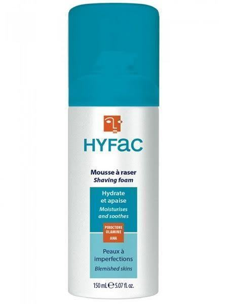 Biorga Hyfac Mousse a Raser Dermatologique Υποαλλεργικός Αφρός Ξυρίσματος για Λιπαρά & Προβληματικά Δέρματα, 150 ml