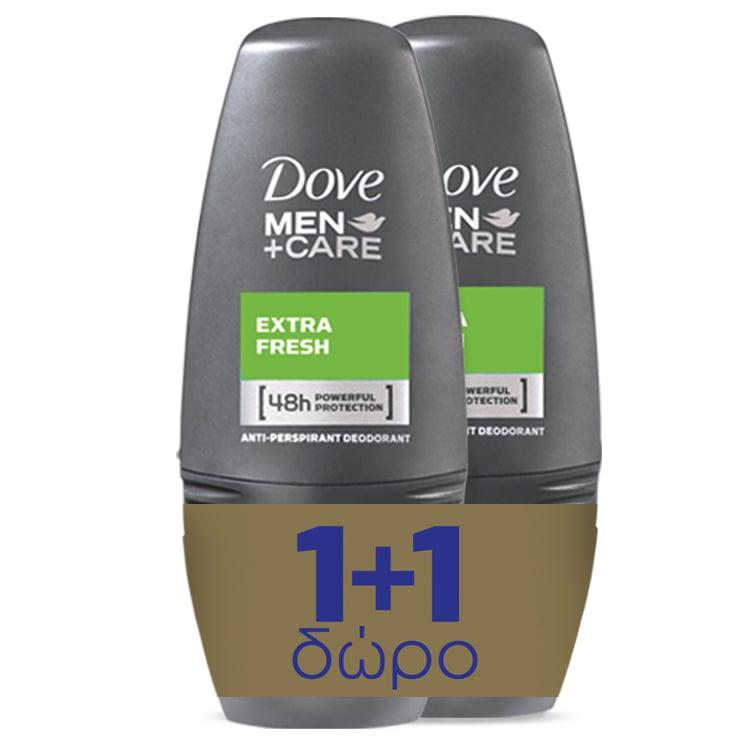 Dove Men+ Care Extra Fresh Roll On (1+1) gift 2x50ml