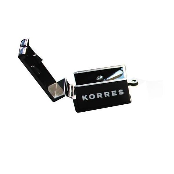 Korres Ξύστρα Μολυβιών Black, 1 τεμάχιο